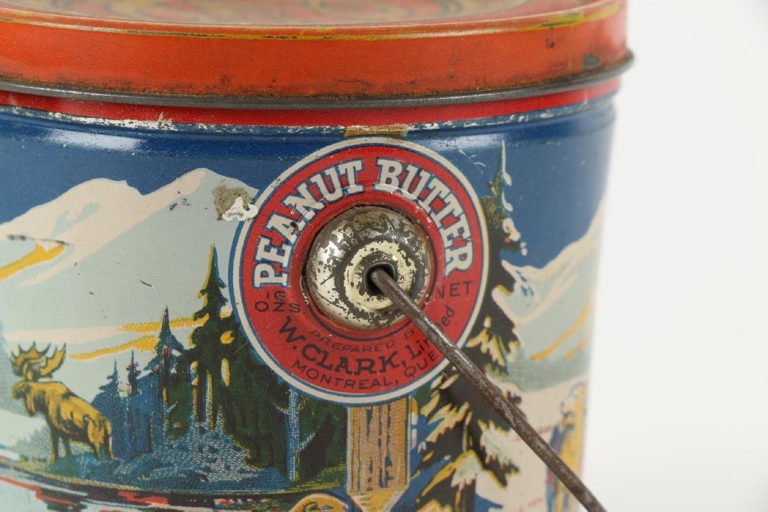Clark's Peanut Butter Tin litho Montreal - 7