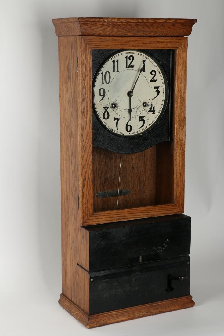 International Wall Punch Clock - 3