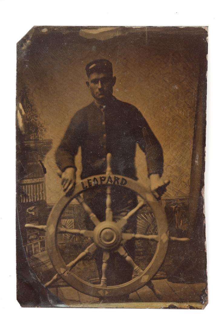 Nautical Tin-Type Sailor Portraits - 3