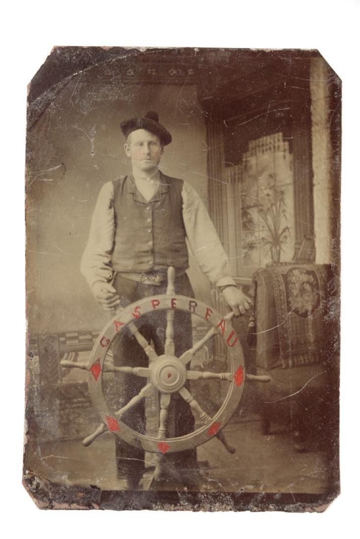 Nautical Tin-Type Sailor Portraits - 4