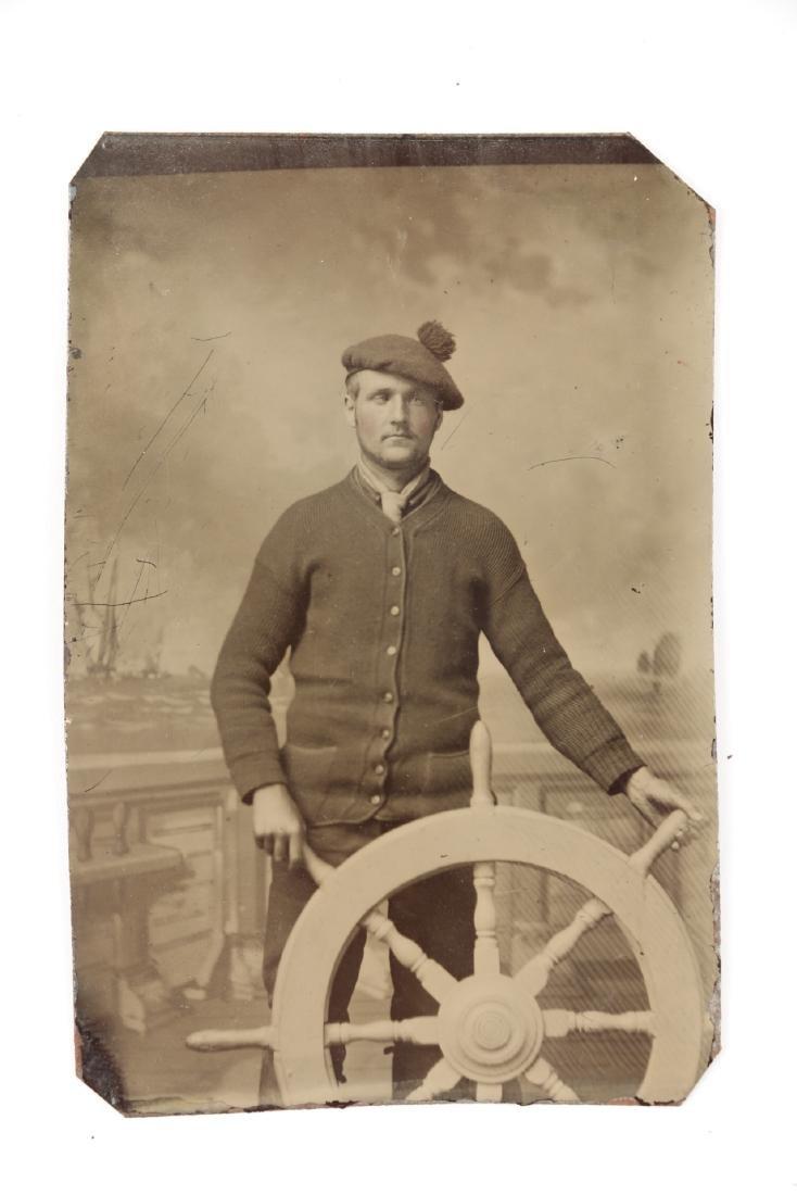 Nautical Tin-Type Sailor Portraits - 5