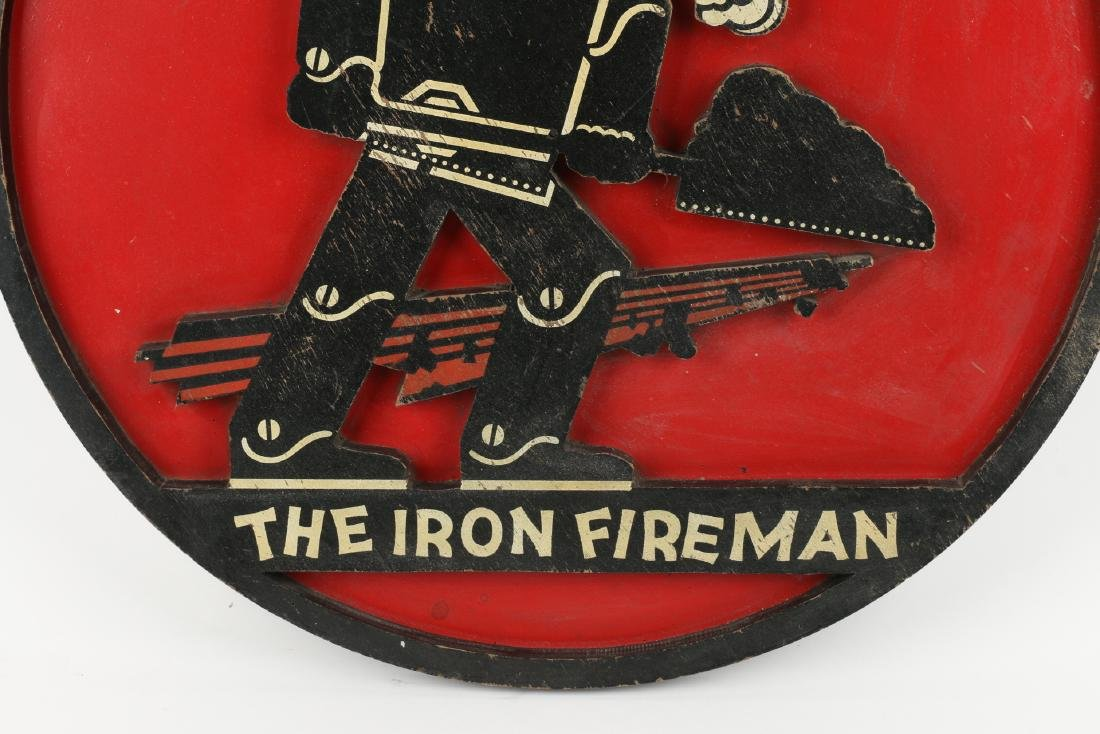 Iron Fireman Coal Furnace Sign - 3