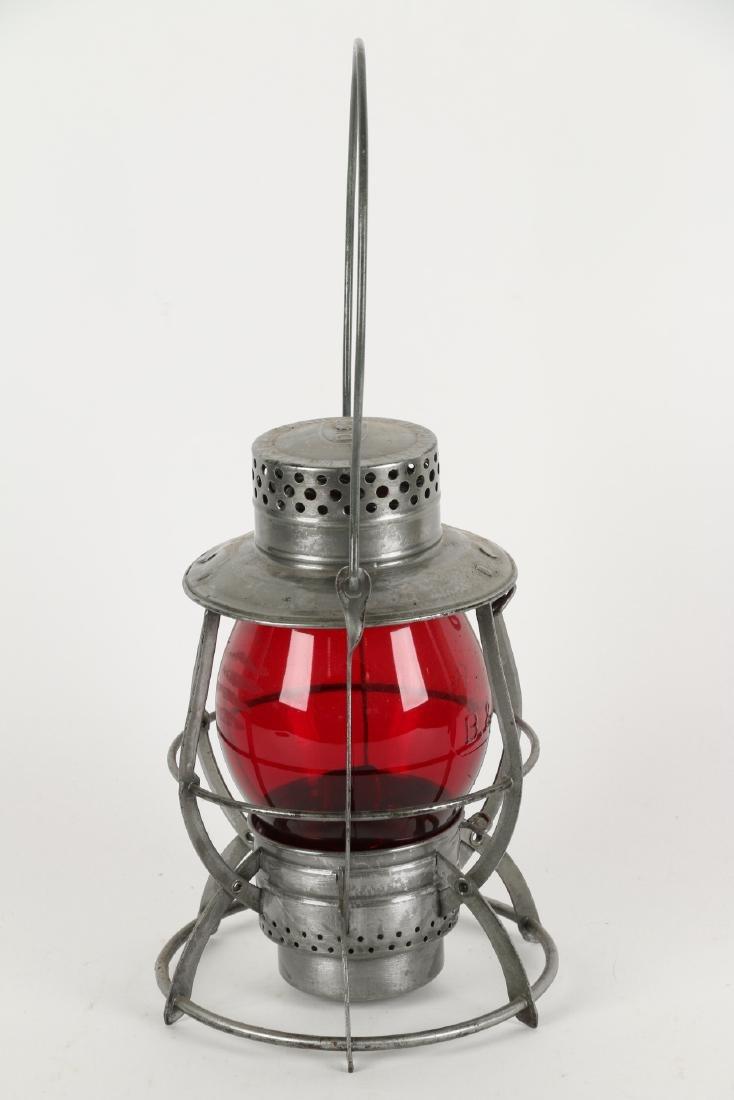 Boston & Maine Railway Lantern - 7