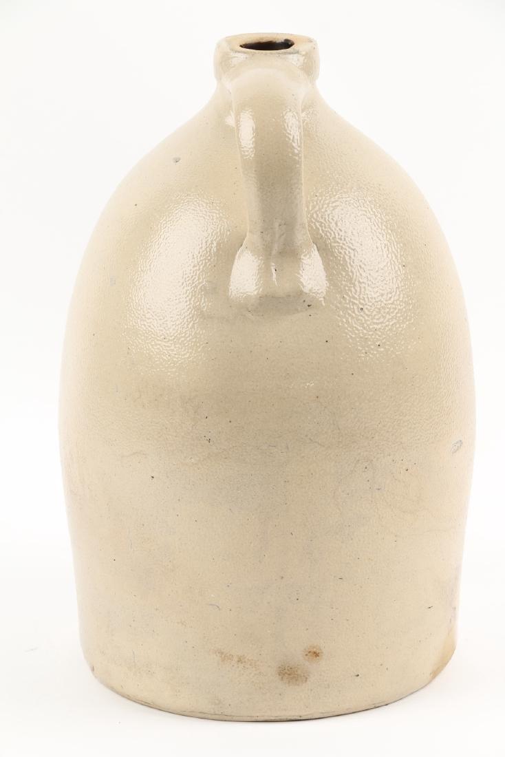 Brantford Ontario Flowered Stoneware Jug - 5