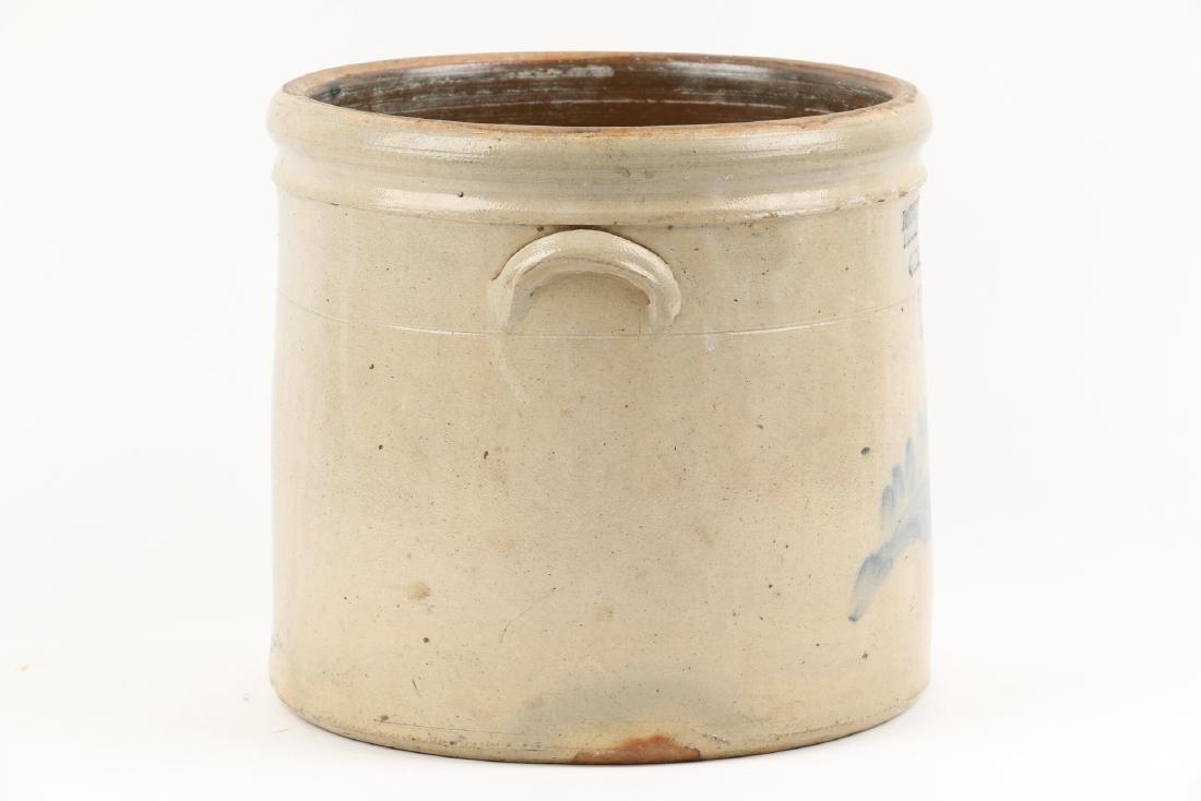 Guelph Ontario Stoneware Merchant Crock - 4