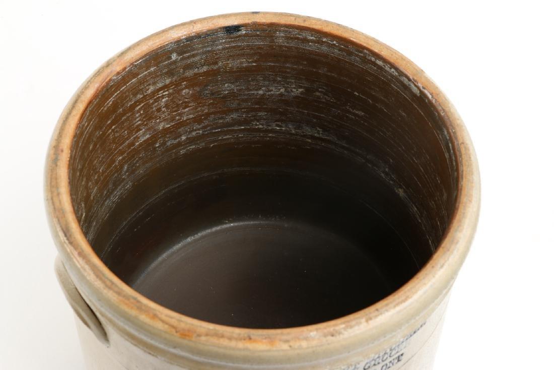 Guelph Ontario Stoneware Merchant Crock - 5