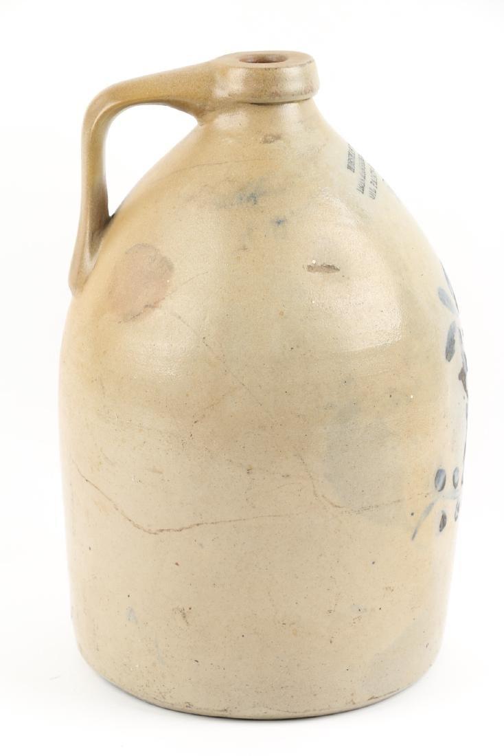 Guelph Ontario Stoneware Merchant Jug - 6