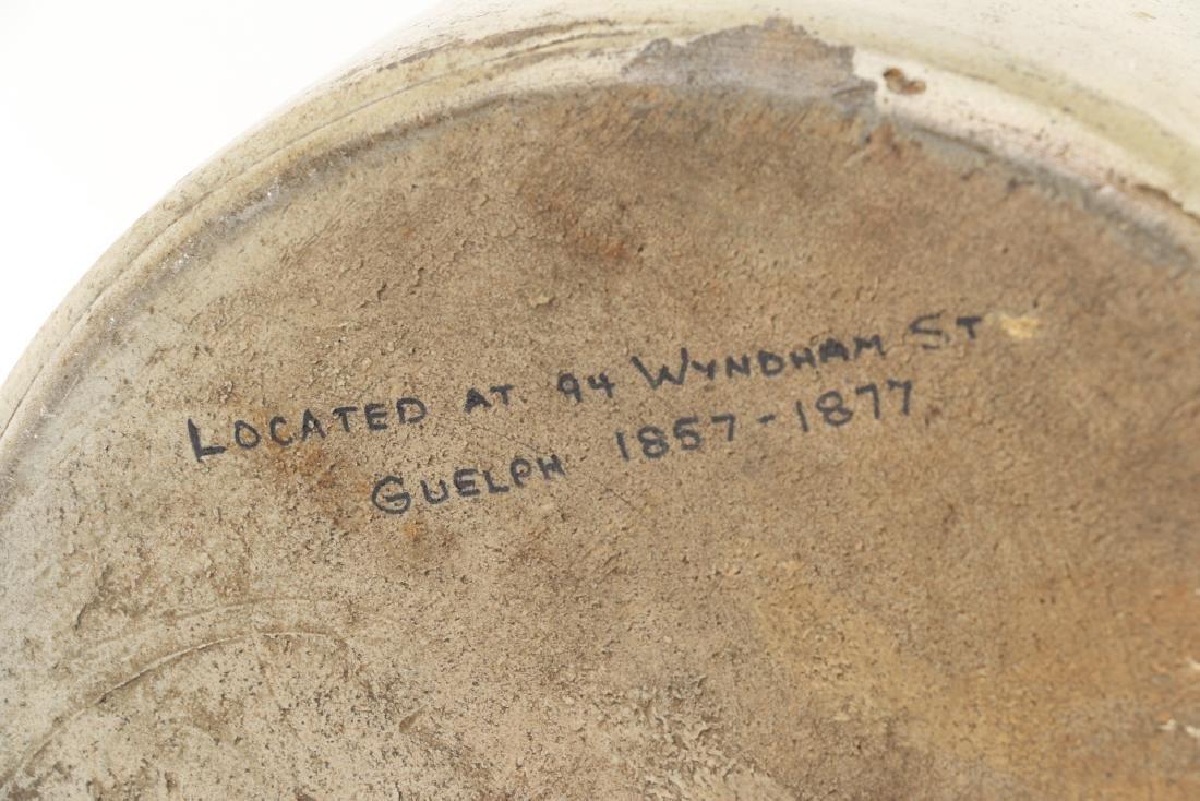 Guelph Ontario Stoneware Merchant Jug - 9