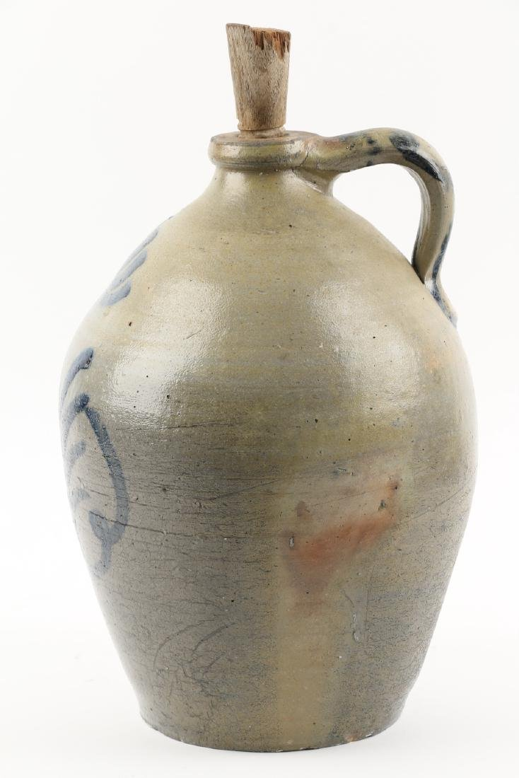 Cobalt decorated Stoneware Jug - 3