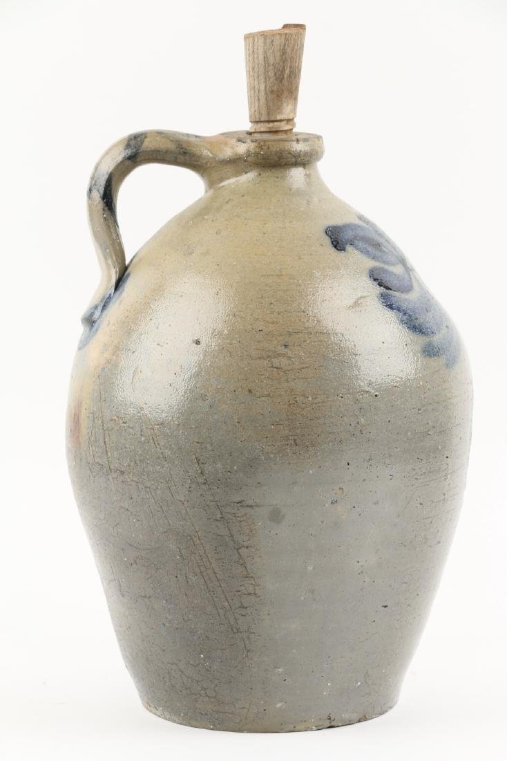 Cobalt decorated Stoneware Jug - 5