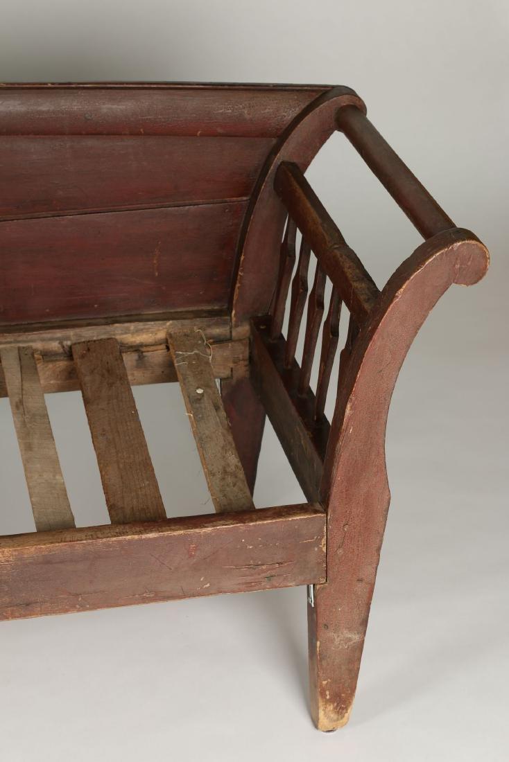 Unusual New Brunswick Settle Bench - 9