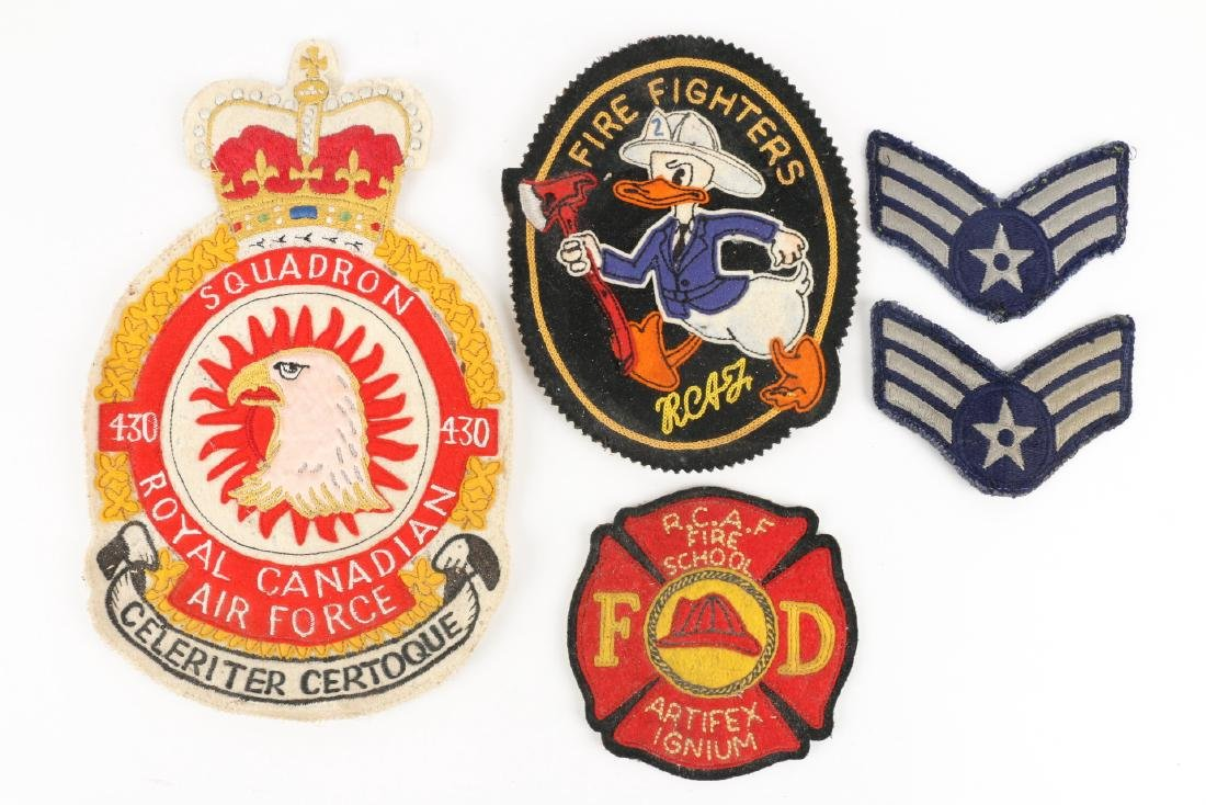 Canadian WWII Badges & Medals - 2
