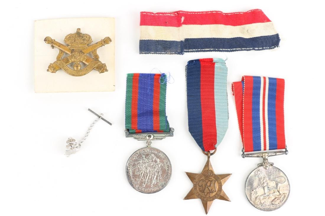 Canadian WWII Badges & Medals - 5