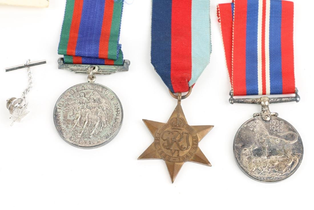 Canadian WWII Badges & Medals - 6