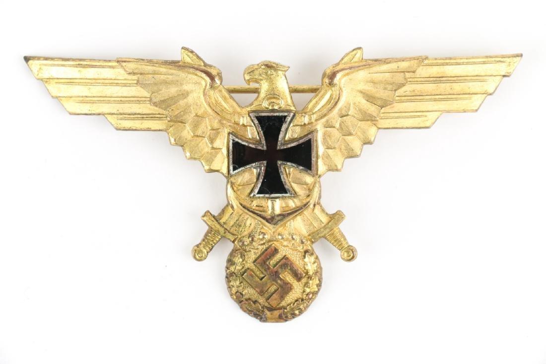 German WWII War Badges & Photograph - 2