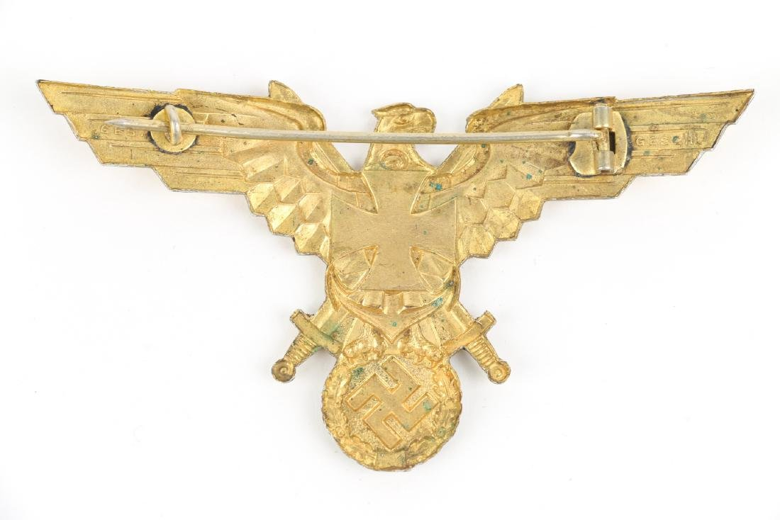 German WWII War Badges & Photograph - 3