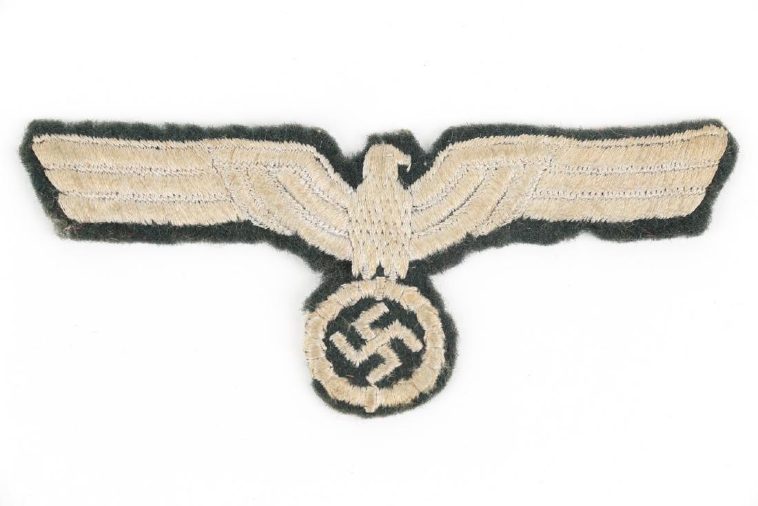 German WWII War Badges & Photograph - 4