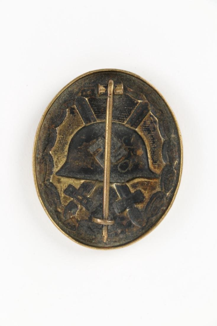 German WWII War Badges & Photograph - 7
