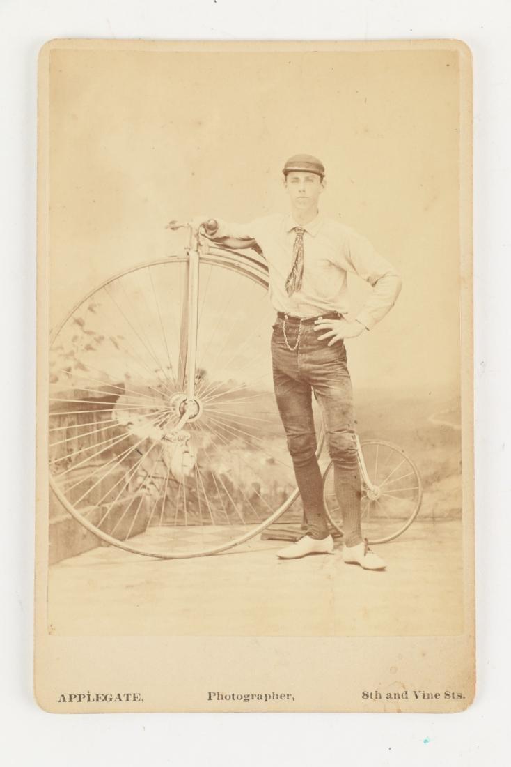 Victorian Bicycle Photograph, Ribbon - 2