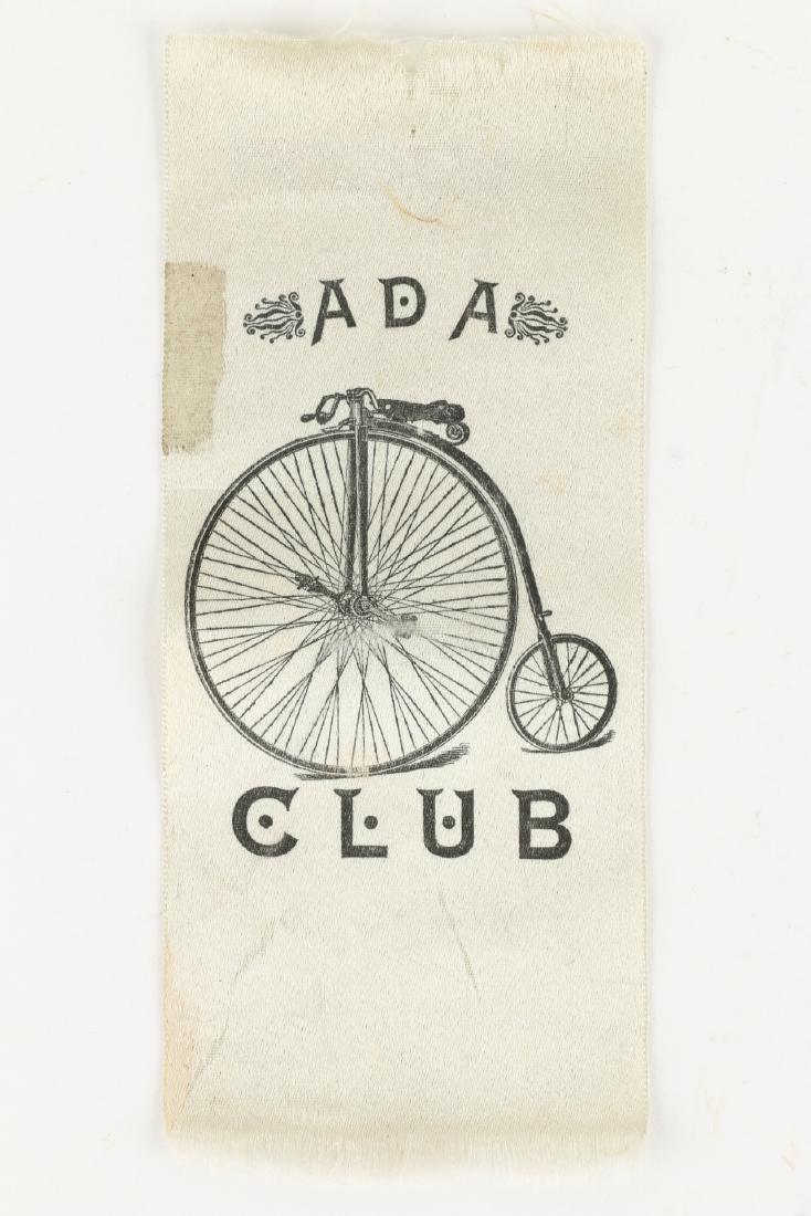 Victorian Bicycle Photograph, Ribbon - 4