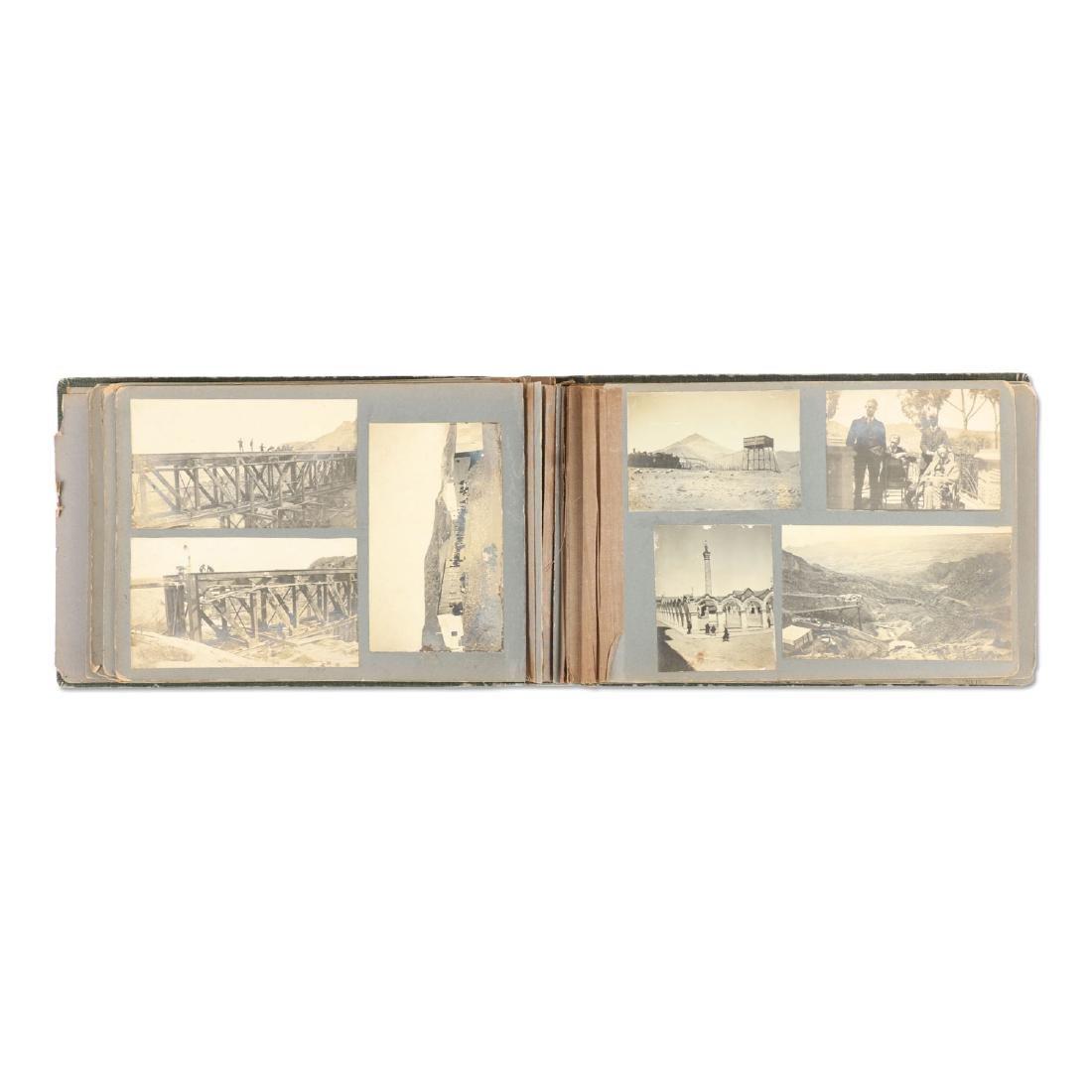 C.1900 Bolivian Mining Prospector Photo Album