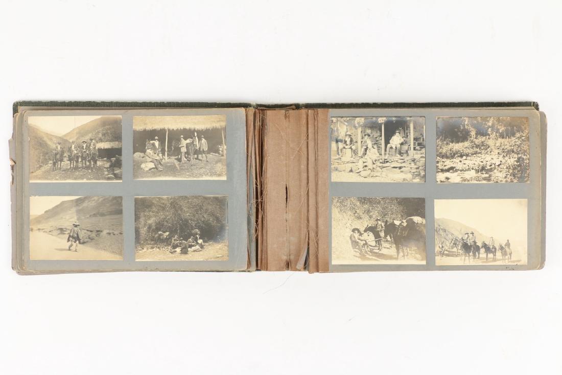 C.1900 Bolivian Mining Prospector Photo Album - 9