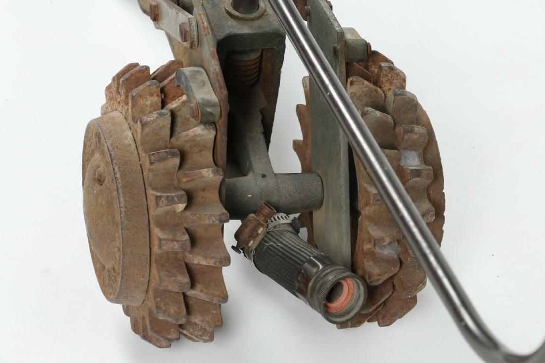 "Cast Iron ""Walking Tractor"" Sprinkler - 6"