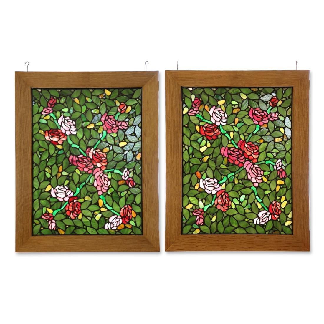 Leaded Mosaic Glass Windows