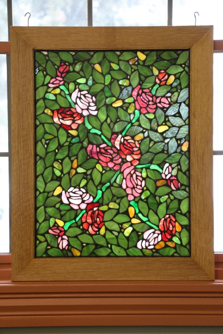 Leaded Mosaic Glass Windows - 4