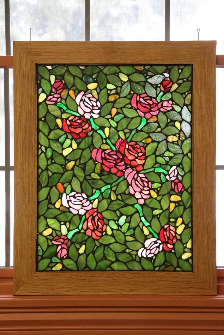 Leaded Mosaic Glass Windows - 5