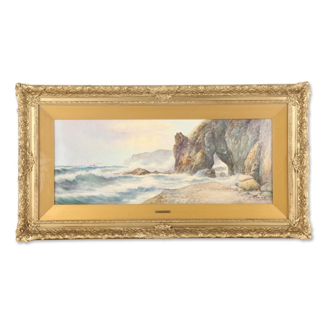 J.C. Uren Watercolour Painting