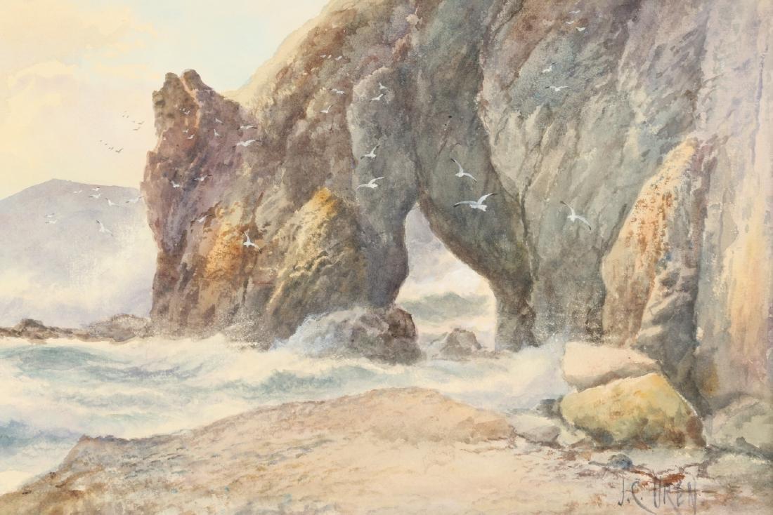 J.C. Uren Watercolour Painting - 4
