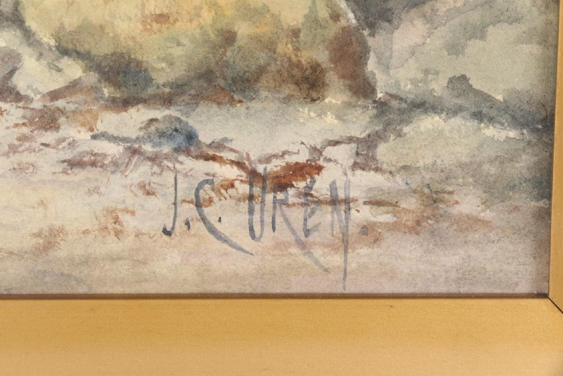 J.C. Uren Watercolour Painting - 6