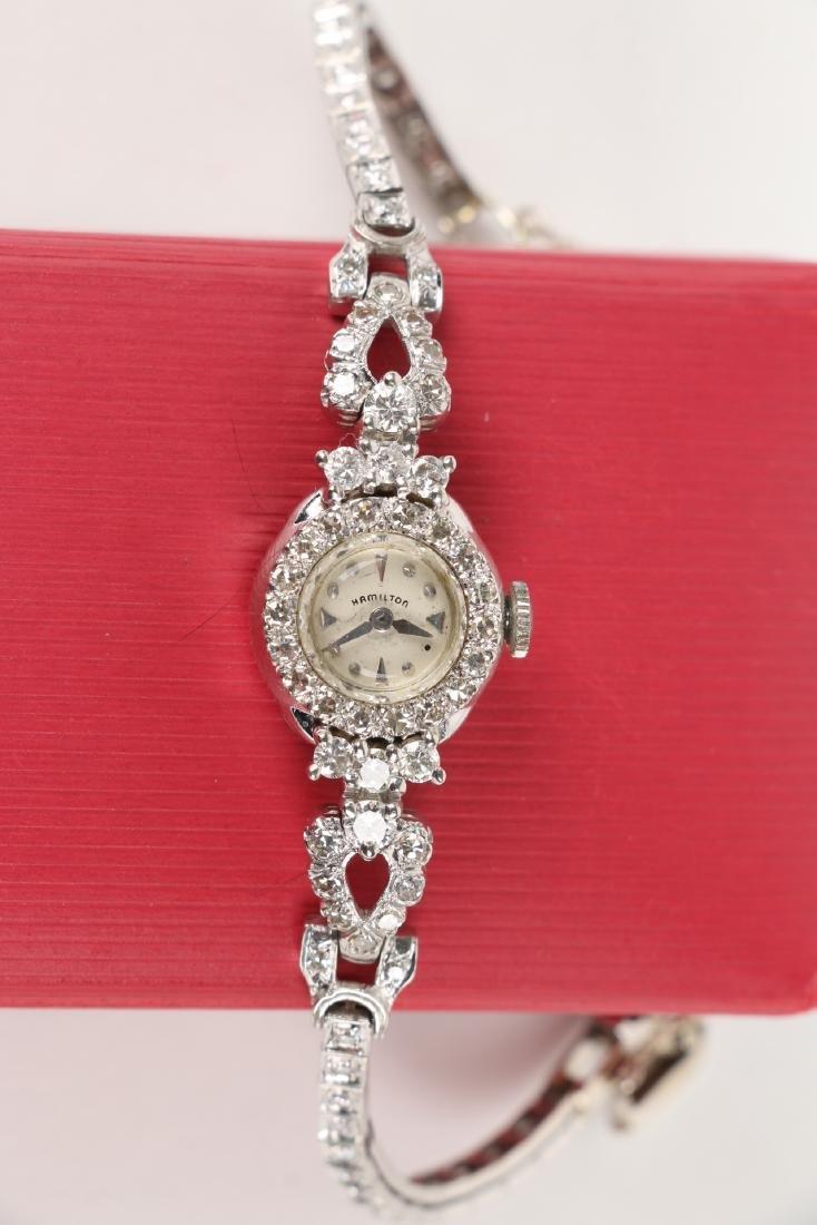 14K Gold Diamond Cocktail Watch - 4