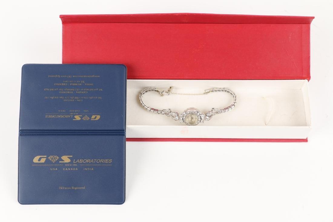 14K Gold Diamond Cocktail Watch - 6