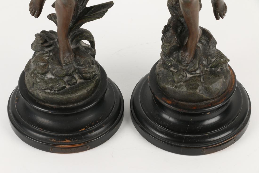 Henryk Kossowski Spelter Statuettes - 2