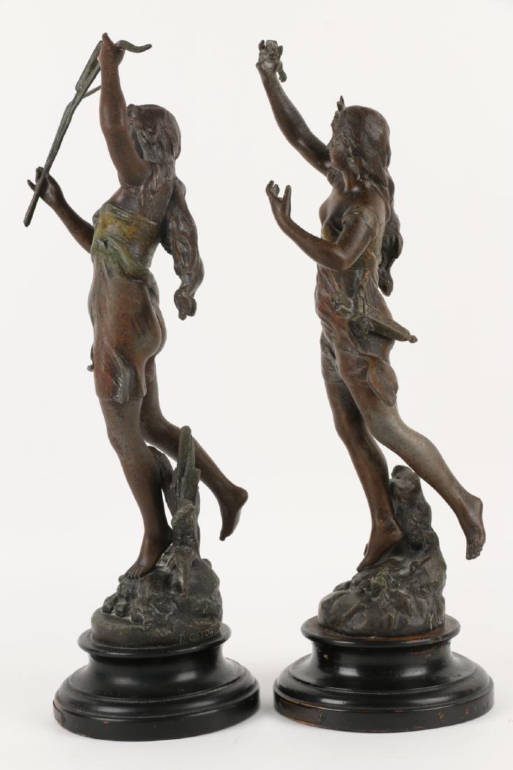 Henryk Kossowski Spelter Statuettes - 3