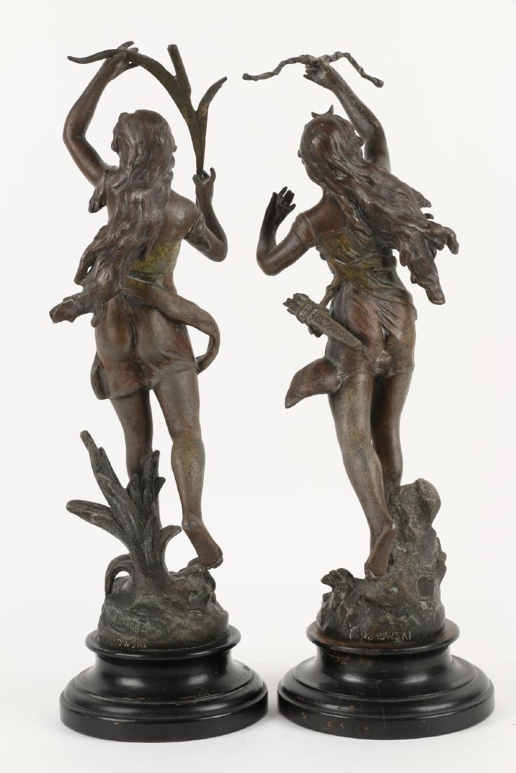 Henryk Kossowski Spelter Statuettes - 4
