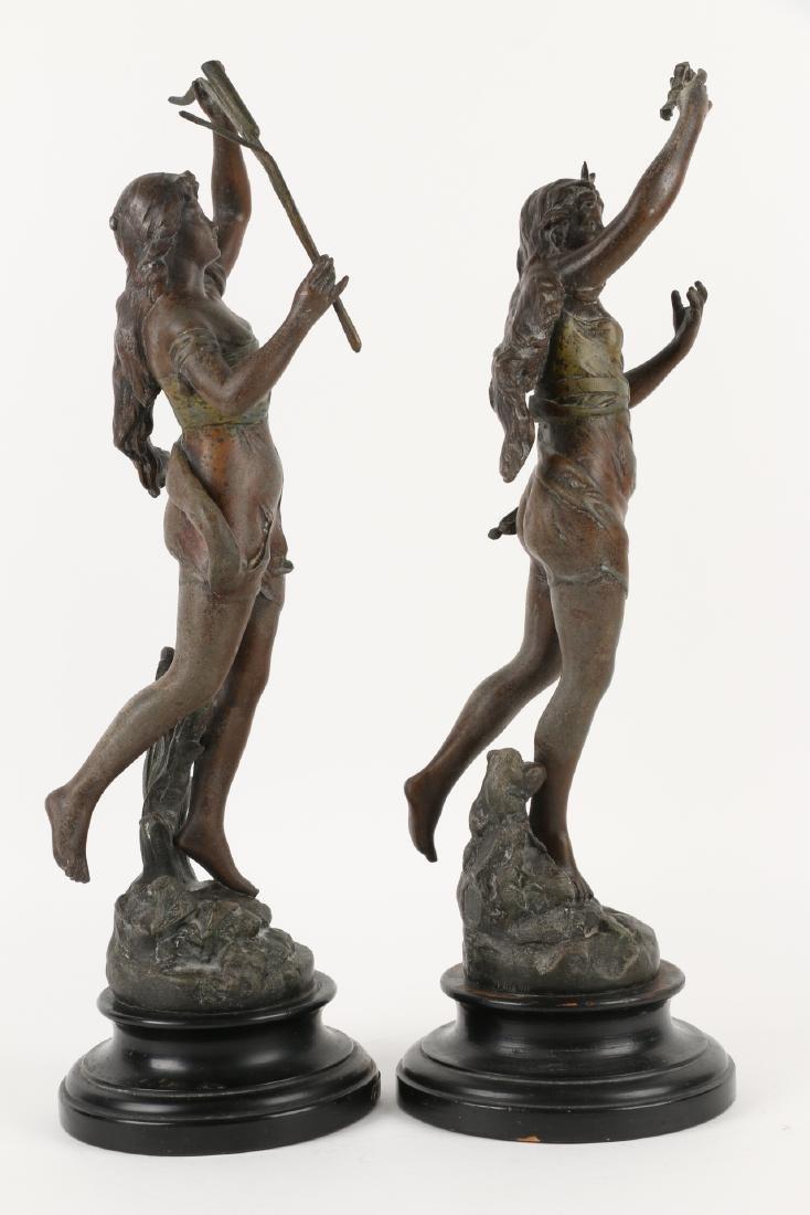 Henryk Kossowski Spelter Statuettes - 5