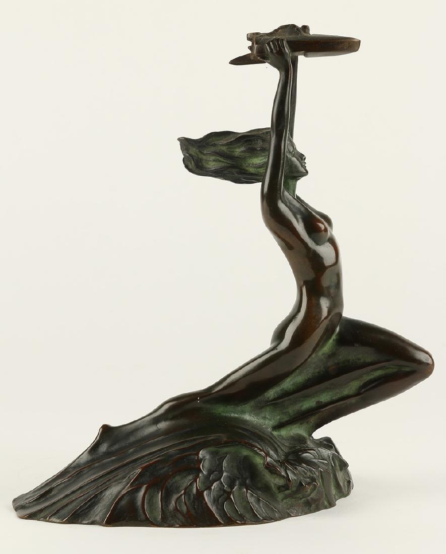 McClelland Barclay Bronze Nude Sculpture - 3