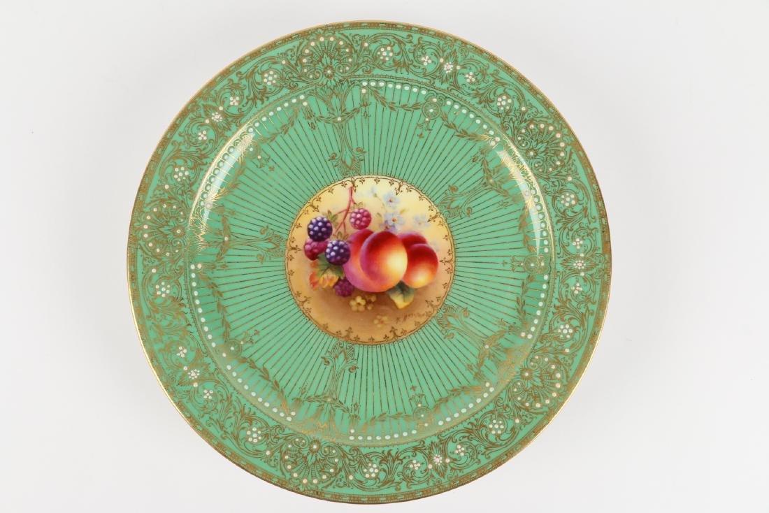 Royal Worcester Dessert Plates - 8