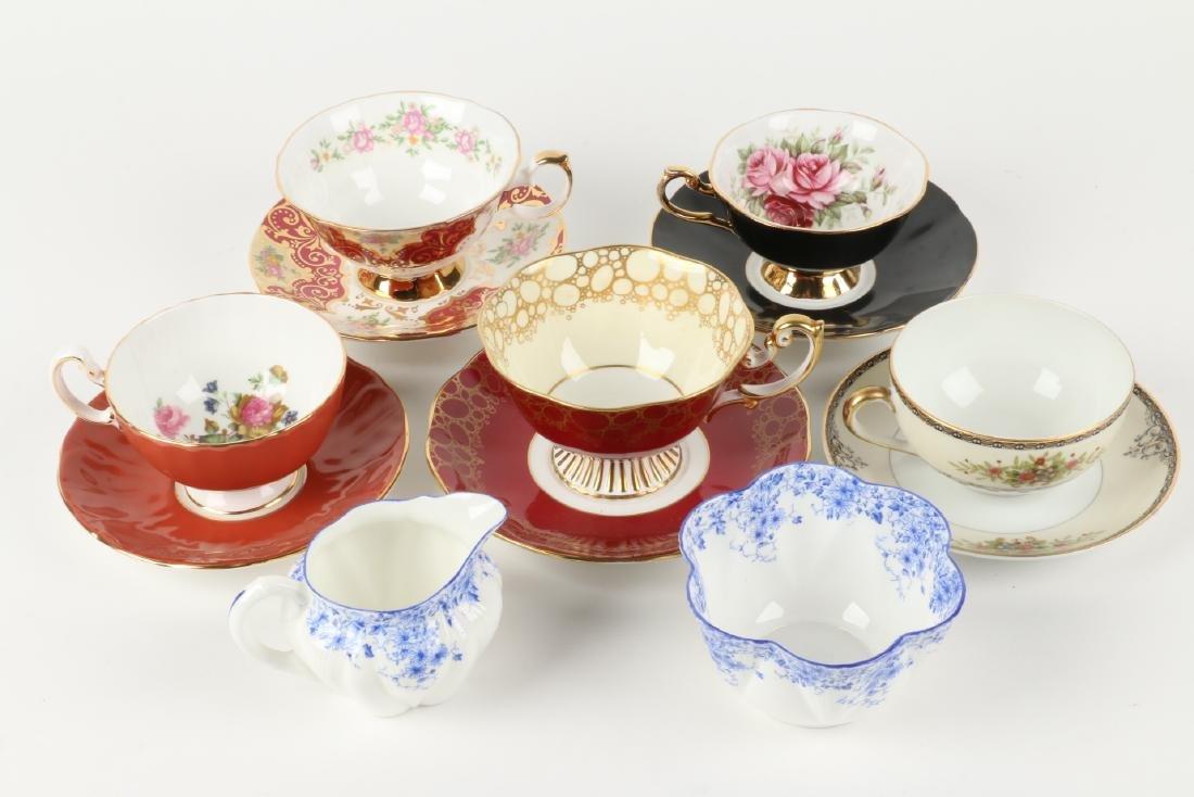 Twenty-two (22) sets of Tea Cups & Saucers - 2