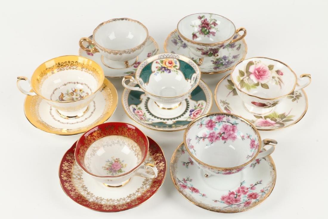 Twenty-two (22) sets of Tea Cups & Saucers - 3