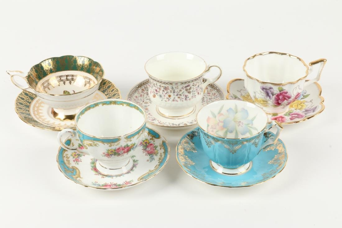 Twenty-two (22) sets of Tea Cups & Saucers - 4