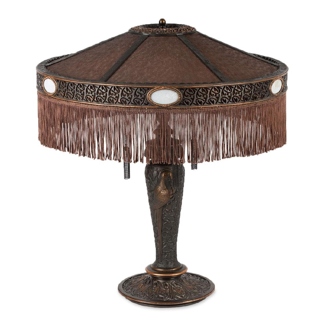 Parrot Motif Table Lamp