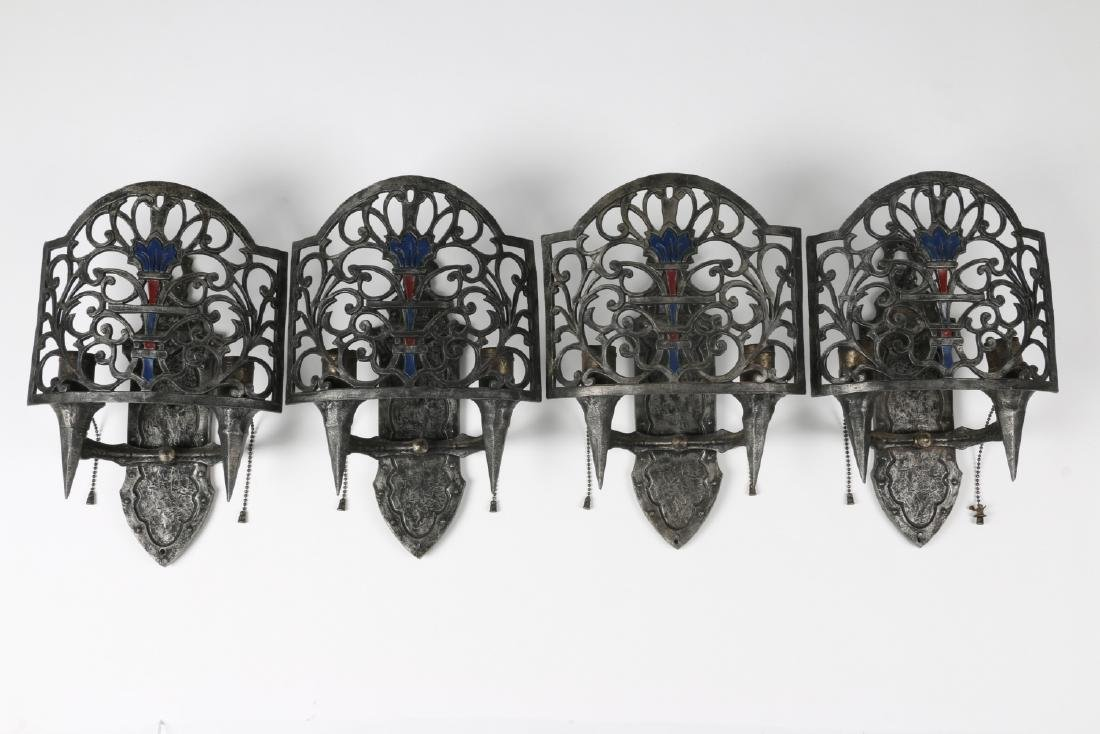 Cephas Rogers Art Deco Wall Sconces - 2