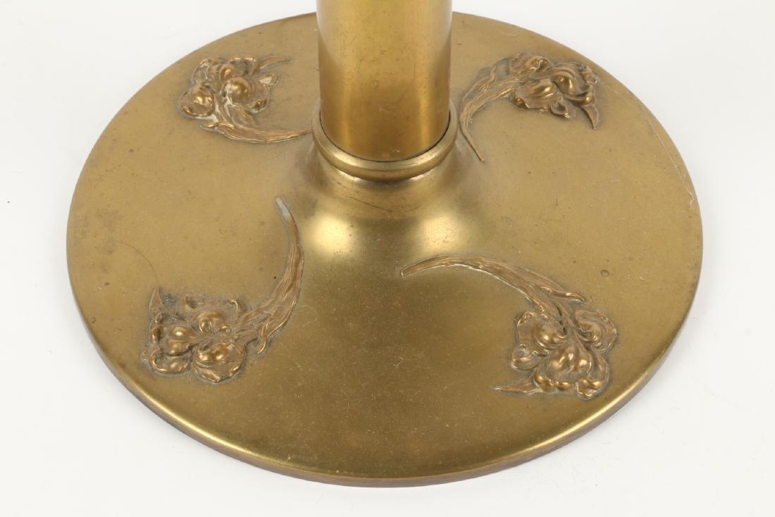 Art Nouveau Table Lamp Base - 2