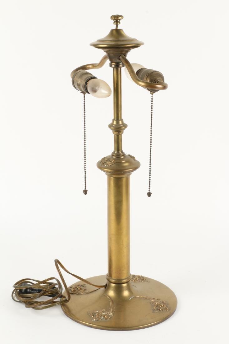 Art Nouveau Table Lamp Base - 6