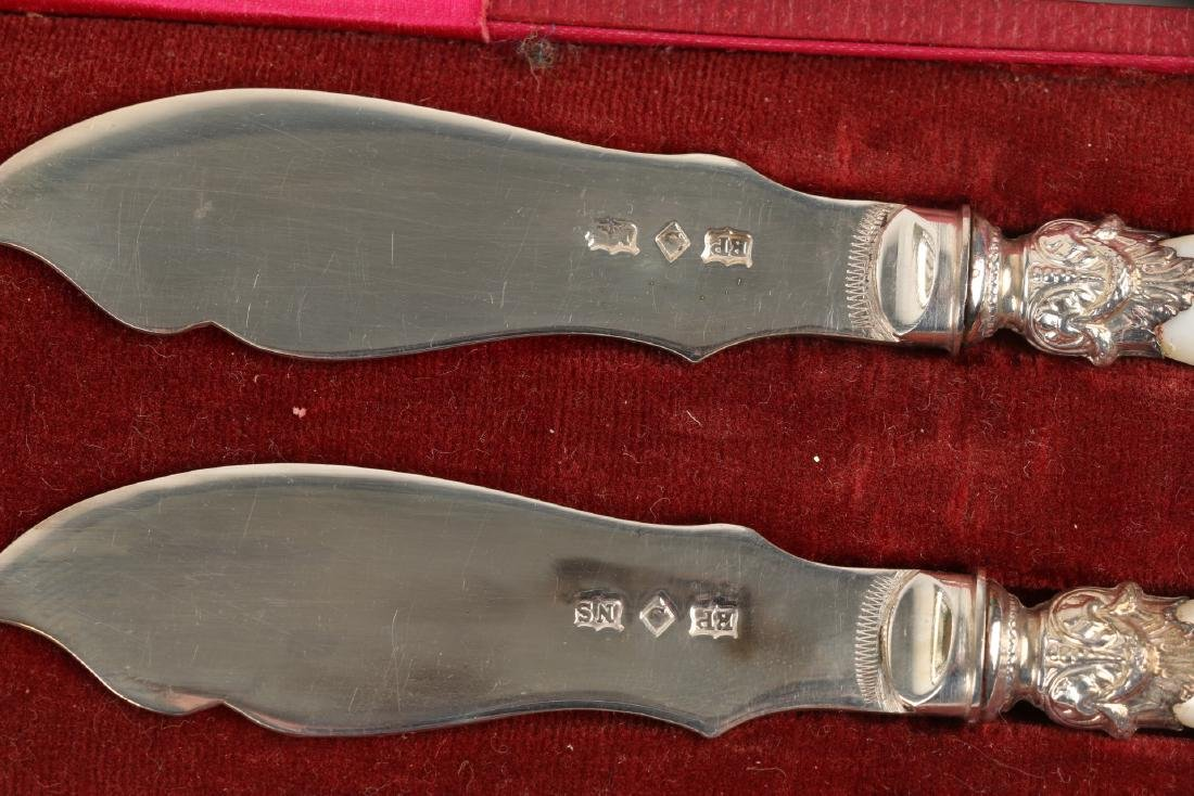 Cased Silverplate Cutlery Sets - 4
