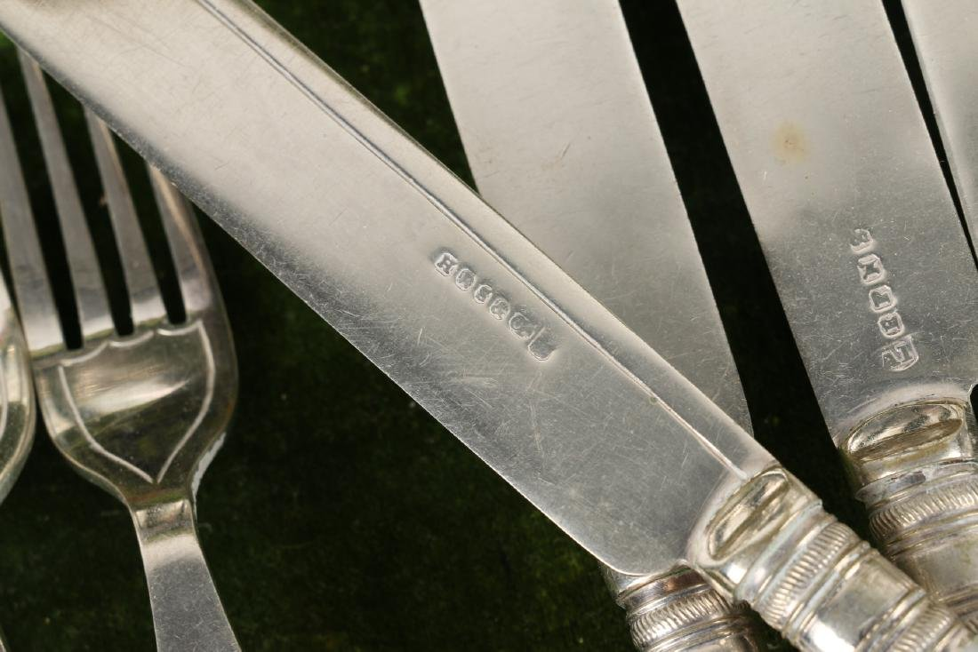 Cased Silverplate Cutlery Sets - 8
